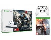 Fnac: Une Xbox One S 1to Gears of War 4 achetée = Battlefield 1 + 2ème manette offerts