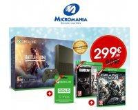 Micromania: 1 pack Xbox One S acheté = -50€ + un an de Xbox Live + GoW4 + Rainbow Six Siege