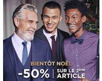 Celio*: 1 article acheté = -50% sur le 2e