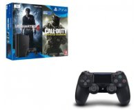 Fnac: PS4 Slim 1 To + 2 jeux (Uncharted 4 et CoD Infinite Warfare) + 2e manette à 319€