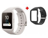 Conforama: Montre connectée Sony Smartwatch 3 + 1 bracelet noir à 109,99€