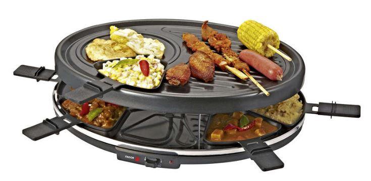 Code promo Conforama : Appareil à raclette 8 personnes fagor FG818 à 29,90€