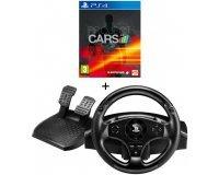 Auchan: Jeu PS4 Project Cars + Volant et pédales T80 RW à 54,99€