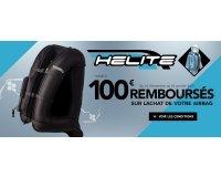 Motoblouz: Jusqu'à 100€ remboursés sur les airbags moto Helite, cumulable avec les codes