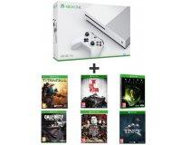Auchan: Xbox One S + 6 jeux (Titanfall, CoD : Ghosts, Thief, Alien, ...) à 249,99€