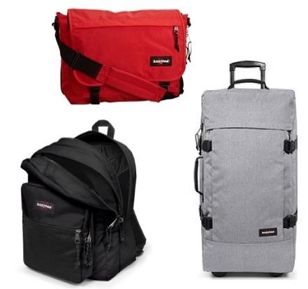 Code promo Amazon : Jusqu'à -50% sur une sélection de sacs à dos, valises et sacs de voyage Eastpak