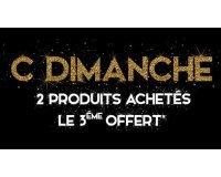 DIM: 2 produits achetés = le 3ème offert + livraison offerte dès 30€ d'achat