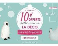 Alinéa: 10€ offerts dès 50€ d'achat sur toute la déco même sur les promos