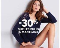 Etam: -30% sur les manteaux et les pulls
