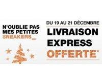 Courir: Livraison express gratuite du 19 au 21 décembre