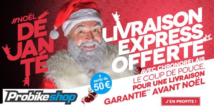 Code promo Probikeshop : La livraison Chronopost offerte avant Noël dès 50€ (hors produits volumineux)