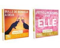 """Amazon: Smartbox """"Bulle de bonheur à deux"""" ou """"Petits plaisirs pour elle"""" à 23,92€"""