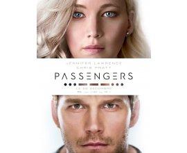 NRJ12: 10 lots de 2 places de cinéma pour le film Passengers à gagner