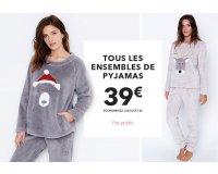 Etam: Tous les ensembles de pyjamas à 39€