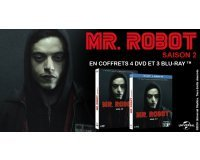 Ciné Média: 1 coffret DVD & 1 coffret Blu-ray de Mr Robot (saison 2) à gagner