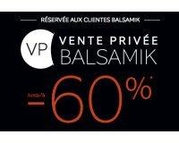 BALSAMIK: Vente Privée : jusqu'à -60% sur une sélection d'articles
