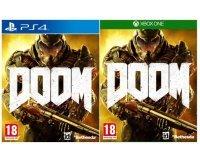 Auchan: Jeu DOOM sur PS4 ou Xbox One à 10€