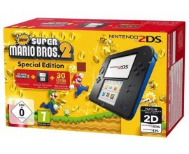 Amazon: Console Nintendo 2DS + New Super Mario Bros 2 à 79,92€