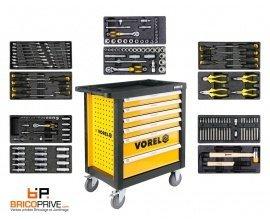 Brico Privé: La servante Vorel complête avec 177 outils à 349,99€ au lieu de 900€