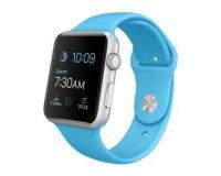 Darty: Montre connectée Apple Watch 42mm cadran aluminium et bracelet sport bleu à 299€