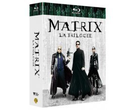 Amazon: Coffret Blu-ray Matrix - La trilogie à 11,99€