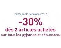 DIM: -30% sur tous les pyjamas et chaussons dès 2 articles achetés