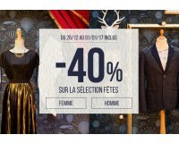 Bonobo Jeans: 40% de réduction sur les produits de fêtes