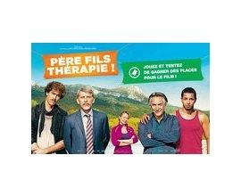 """M6: 15 lots de 2 places de cinéma pour le film """"Père fils thérapie !"""" à gagner"""