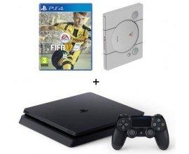 Cdiscount: Console Sony PS4 Slim 500 Go + Fifa 17 +  SteelBook 20e anniversaire à 309,99€