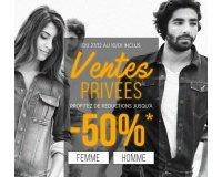 Bonobo Jeans: Ventes Privées : jusqu'à -50% sur une sélection d'articles + code - 10% suppl.