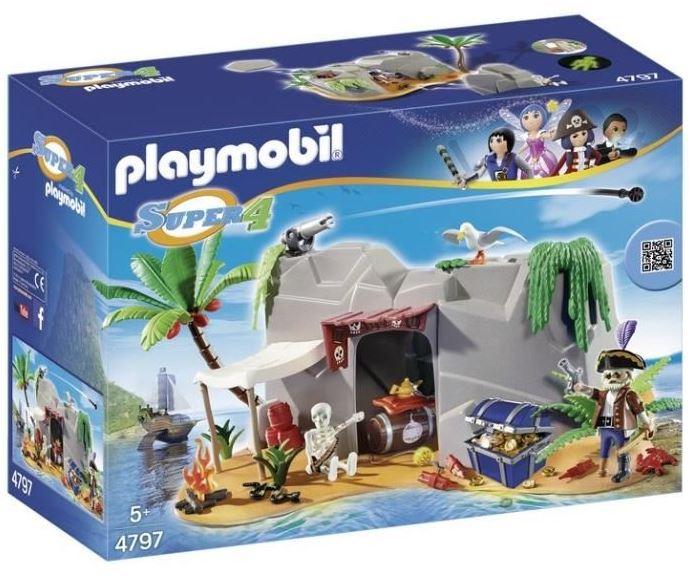 Code promo Amazon : - 20% sur les jouets du moment. Ex : Caverne des pirates Playmobil à 16,99€