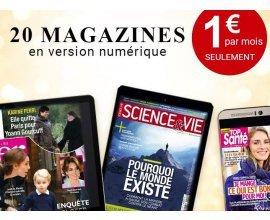 KiosqueMag: 20 magazines en version numériques à seulement 1€ par mois