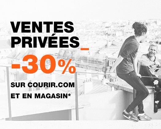 Code promo Courir : [Adhérents MyCourir] 30% de réduction sur tout le site et en magasin