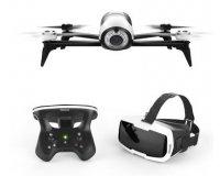 Fnac: Drone Parrot Bebop 2 Blanc + Skycontroller 2 + Cockpit Glasses à 499,99€
