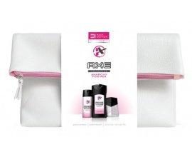 Amazon: Coffret Cadeau Axe : Trousse, eau de toilette déodorant + gel douche à 6,45€