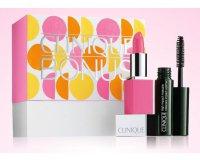 Clinique: Cadeau bonus (mini rouge à lèvres + base lissante + mini mascara) dès 30€