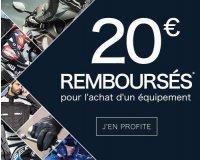 Motoblouz: 20€ offerts pour l'achat d'un équipement de sécurité parmi une sélection