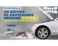 Oscaro: Une batterie auto Varta achetée = un boitier de sauvegarde mémoire offert