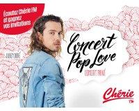 Chérie FM: Des invitations pour le concert Pop Love de Julien Doré à gagner