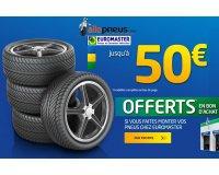 Allopneus: Achetez vos pneus & recevez jusqu'à 50€ en bons d'achat chez Euromaster