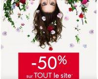 Yves Rocher: -50% sur tout le site hors points verts et nouveautés