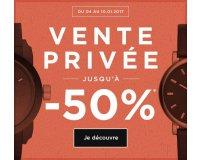 Montres & Co: Ventes privées : jusqu'à -50% sur une sélection de montres