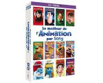 Amazon: Coffret DVD 12 films d'animation Sony Pictures à 14.99 €