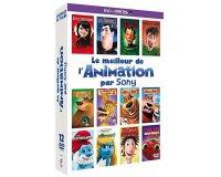 Amazon: Coffret DVD 12 films d'animation Sony Pictures à 14.99 €