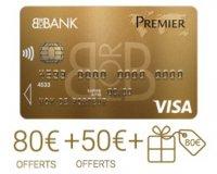BforBank: 210€ offerts pour l'ouverture d'un compte bancaire et d'un livret d'épargne