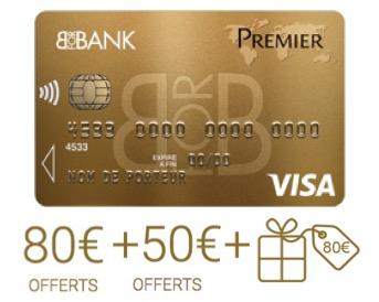 Code promo BforBank : 210€ offerts pour l'ouverture d'un compte bancaire et d'un livret d'épargne
