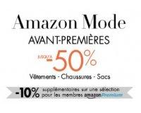 Amazon: Jusqu'à - 50% sur les articles de mode et - 10% en plus pour les membres Premium