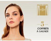 Marie Claire: 5 lots de produits de beauté primés à gagner