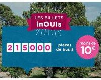 OUIBUS: 215 000 billets de BUS à moins de 10€ sur des centaines de destinations