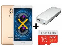 Cdiscount: Smartphone Honor 6X + Micro SD 16Go + Batterie Externe à 219€ (dont 30€ via ODR)